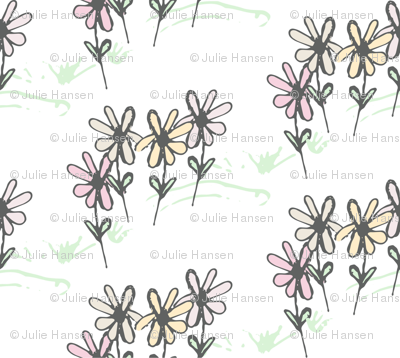 Delicate Daisy Flower Meadow