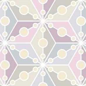 07356646 : SC3C spotty : lilac mauve