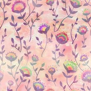 folk flower salmom