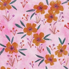 leila floral rose