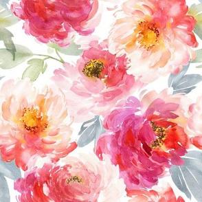 """8"""" Juniper Floral Blooms"""