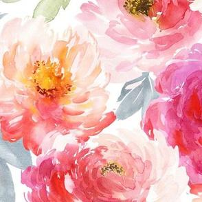 """12"""" Juniper Floral Blooms"""