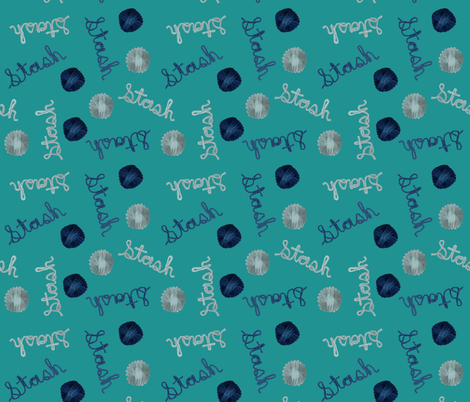 stash_green fabric by martha_emily_designs on Spoonflower - custom fabric
