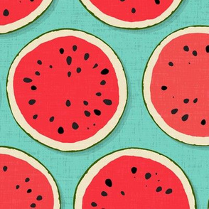 watermelon polka mint