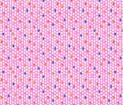 Painterly Overlay - Pink fabric by nadiahassan on Spoonflower - custom fabric