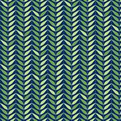 Dream Flower Leaf Lines—Green