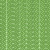 Dream Flower Leaf Outlines—Green