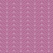 Dream Flower Leaf Outlines—Pink