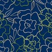 Spfl_dream_flower_outline_green_shop_thumb
