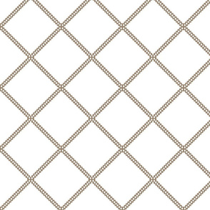 beige diamond lattice fretwork ogee diamond pattern