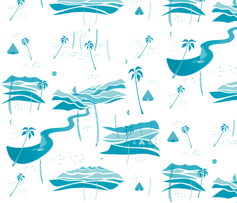 Tropics fabric by agathests on Spoonflower - custom fabric