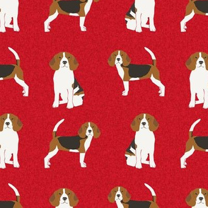 beagle  pet quilt a dog breed fabric coordinate