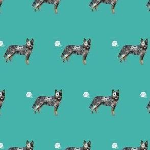 australian cattle dog fart funny cute dog breed blue heeler teal