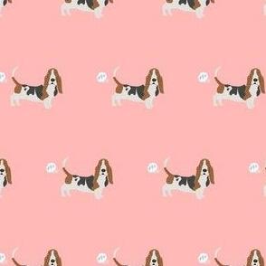 basset hound dog fart funny cute dog breed pink