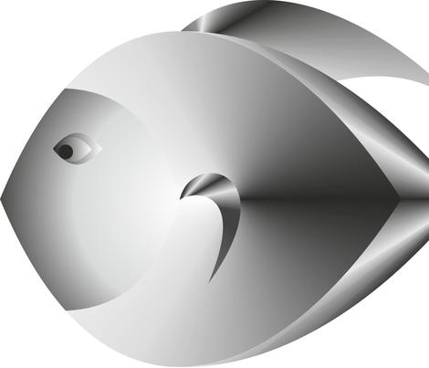 fish_logo fabric by alenaart on Spoonflower - custom fabric