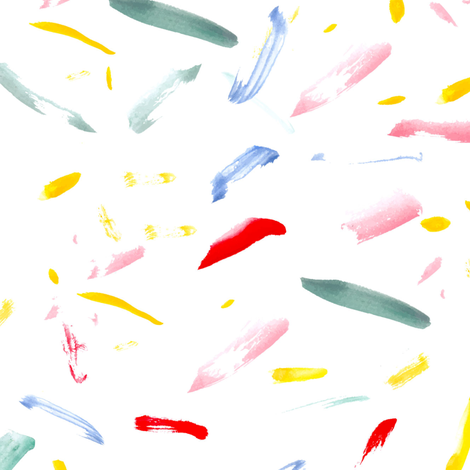 Paint1spoonflowerrepeat fabric by b__woolf on Spoonflower - custom fabric