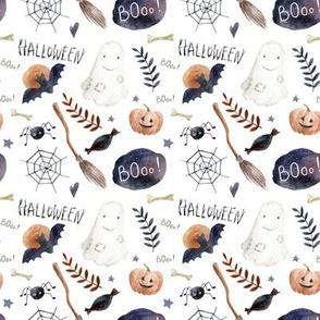 """4"""" Halloween Night // White"""