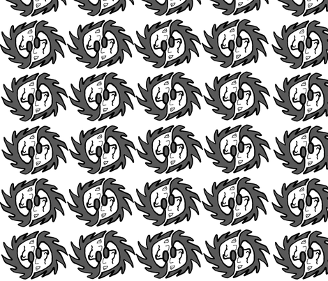 The Guy fabric by beckles68 on Spoonflower - custom fabric