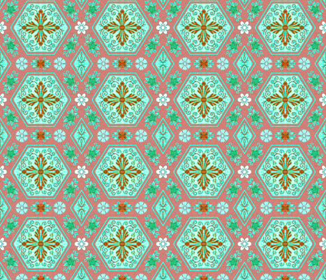 japonaise 80 fabric by hypersphere on Spoonflower - custom fabric