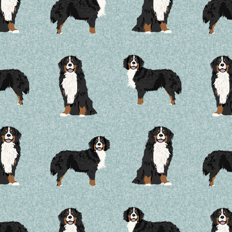 bernese mountain dog pet quilt b coordinate dog fabric  fabric by petfriendly on Spoonflower - custom fabric