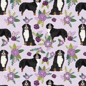 bernese mountain dog pet quilt c coordinate dog fabric floral