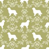 bernese mountain dog pet quilt d coordinate dog fabric silhouette floral