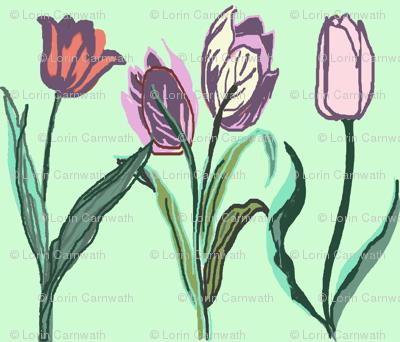 Tulip Border mint 2