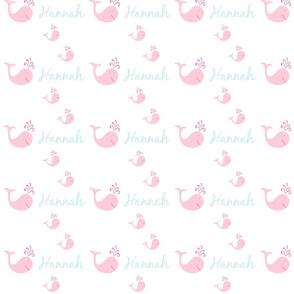 bitty whale splash 525 - pink-ed