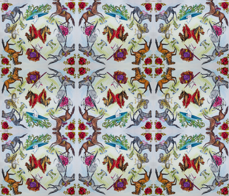 Kentucky Derby fabric by karry_l on Spoonflower - custom fabric