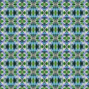 GF15 - Tiny -  Galactic Fantasy in Green - Lavender - Yellow - Blue