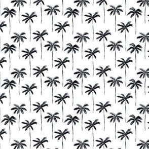 "1.5"" watercolor palm - black - C18BS"
