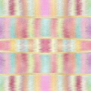 Ikat Banded Stripes Pastels