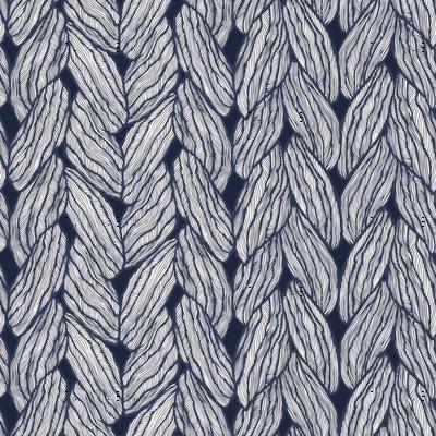 Knitting - Stitched Navy
