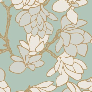Magnolia Story Branches - Sage
