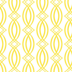 Oxford Trellis Yellow