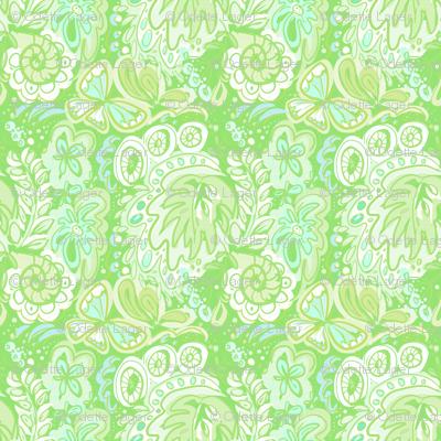 FlowerPower green Odette-Lager