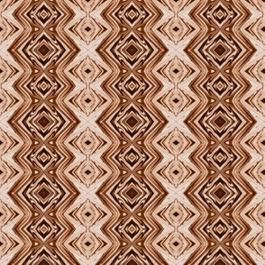 GP22 - Geometric Pillars in Brown and Taupe