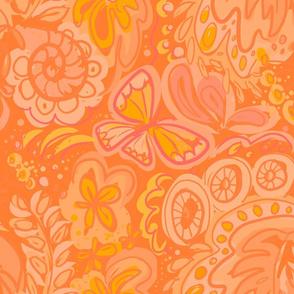 FlowerPower orange