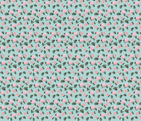 Quintessential spring  fabric by ebright on Spoonflower - custom fabric