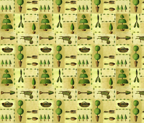 Topiary fabric by tiffany_budd on Spoonflower - custom fabric