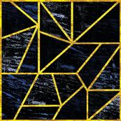 Triangle bleus grunge