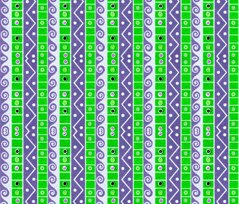 egyptian 54 fabric by hypersphere on Spoonflower - custom fabric