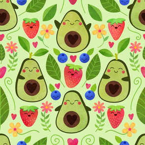 Happy Avocados - Large