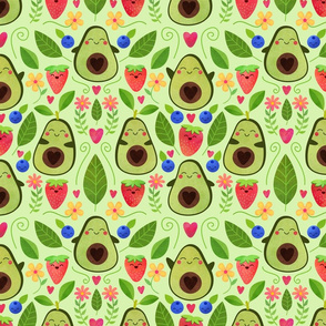 Happy Avocados - Medium