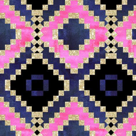 boho basic diamond extra fabric by schatzibrown on Spoonflower - custom fabric