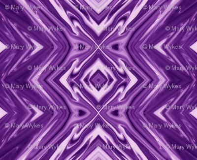 GP15 - Geometric Pillars in Purple and Lavender