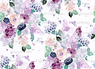 lilac-lavender-romance bouquet