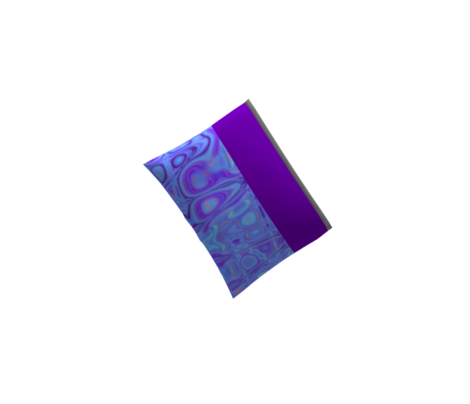 GP5 - small -  Geometric Pillars in Blue - Purple - Lavender - Pink