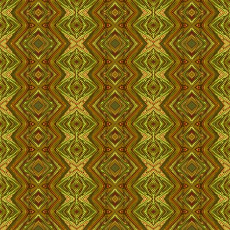 Olive Green  and Mustard Yellow Geometric Pillars fabric by maryyx on Spoonflower - custom fabric