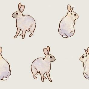 Wild Rabbits - Rain Cloud [Large]